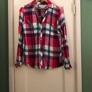 New York and company flannel